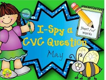 I-Spy CVC Questions - Short /u/ Words (May Edition)