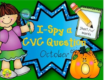 I-Spy CVC Questions - Short /u/ Words (October Edition)