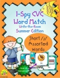 I-Spy CVC Real or Nonsense Word Match - Short /i/ Assorted