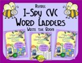 I-Spy CVC Rebus Word Ladders Bundle (May Edition) Variable Vowels