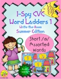 I-Spy CVC Rebus Word Ladders - Short /a/ Assorted Words (S