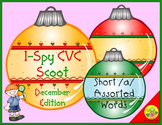 I-Spy CVC Scoot - Short /a/ Assorted Words (December Edition)