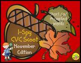 I-Spy CVC Scoot - Short /a/ Assorted Words (November Edition)