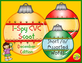 I-Spy CVC Scoot - Short /o/ Assorted Words (December Edition)