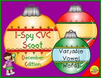 I-Spy CVC Scoot - Variable Vowel Words (December Edition)