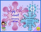 I-Spy CVC Scoot - Variable Vowel Words (January Edition)