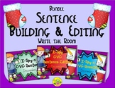 I-Spy CVC Sentence Building & Editing Bundle (December Edi