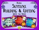 I-Spy CVC Sentence Building & Editing Bundle (October Edit