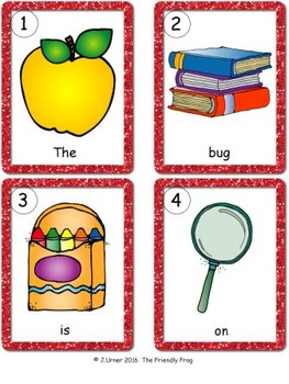 I-Spy CVC Sentences - Assorted Vowels (September Edition)