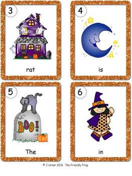 I-Spy CVC Sentences - Short /a/ Words (October Edition)