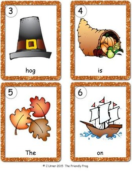 I-Spy CVC Sentences - Short /o/ Words (November Edition)