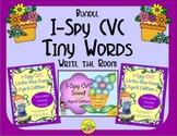 I-Spy CVC Tiny Words Bundle (April Edition) Variable Vowels