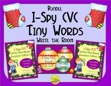 I-Spy CVC Tiny Words Bundle (December Edition) Variable Vowels