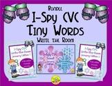I-Spy CVC Tiny Words Bundle (January Edition) Variable Vowels