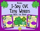 I-Spy CVC Tiny Words Bundle (March Edition) Variable Vowels