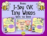 I-Spy CVC Tiny Words Bundle (May Edition) Variable Vowels
