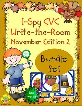 I-Spy CVC Tiny Words Bundle (November Edition) Set 2