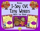 I-Spy CVC Tiny Words Bundle (November Edition) Variable Vowels