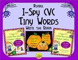I-Spy CVC Tiny Words Bundle (October Edition) Variable Vowels