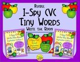 I-Spy CVC Tiny Words Bundle (September Edition) Variable Vowels