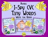 I-Spy CVC Tiny Words Bundle (Summer Edition) Variable Vowels