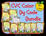 I-Spy CVC Tiny Words - Color by Code All Year Bundle