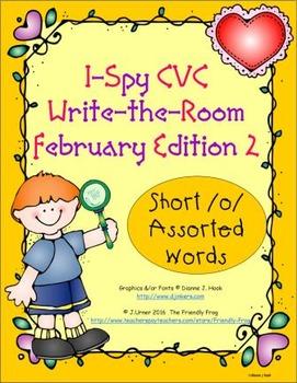 I-Spy CVC Tiny Words - Short /o/ Assorted Words (Feb. Edit