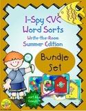 I-Spy CVC Word Sorts Bundle (Summer Edition)