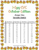 I-Spy CVC Word Work - Variable Vowel Words (October Edition) Basic