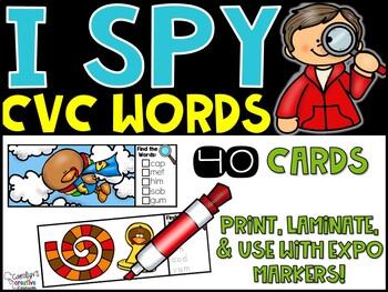I Spy CVC Words - November Edition [Turkey]