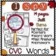 I Spy CVC Words! {Spy, Read, Write} {Fall Edition}