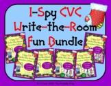 I-Spy CVC Write-the-Room Fun Bundle (December Edition) Var
