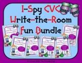 I-Spy CVC Write-the-Room Fun Bundle (January Edition) Vari
