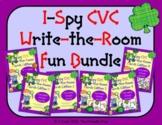 I-Spy CVC Write-the-Room Fun Bundle (March Edition) Variab