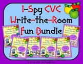 I-Spy CVC Write-the-Room Fun Bundle (September Edition) Va