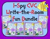 I-Spy CVC Write-the-Room Fun Bundle (Summer Edition) Varia