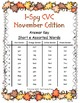 I-Spy CVC Tiny Words - Short /e/ Assorted Words (November Edition) Set 1