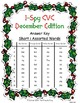 I-Spy CVC Tiny Words - Short /i/ Assorted Words (December Edition) Set 1