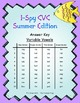 I-Spy CVC Tiny Words - Variable Vowel Words (Summer Edition) Set 2