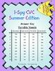 I-Spy CVC Tiny Words - Variable Vowel Words (Summer Editio