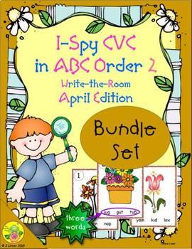 I-Spy CVC in ABC Order Bundle (April Edition) Set 2
