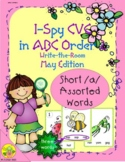 I-Spy CVC in ABC Order - Short /a/ Assorted Words (May Edi