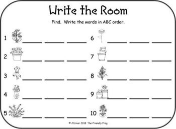 I-Spy CVC in ABC Order - Short /i/ Assorted Words (April Edition) Set 2