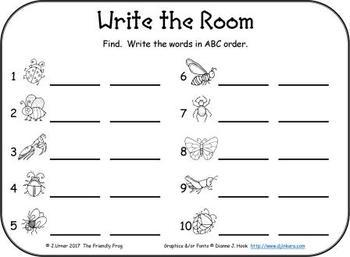I-Spy CVC in ABC Order - Short /i/ Assorted Words (May Edition)