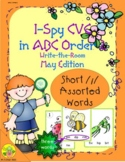 I-Spy CVC in ABC Order - Short /i/ Assorted Words (May Edi