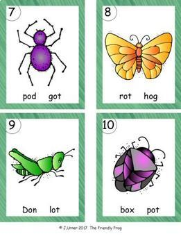 I-Spy CVC in ABC Order - Short /o/ Assorted Words (May Edition)