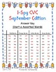 I-Spy CVC in ABC Order - Short /o/ Assorted Words (September Edition) Set 1