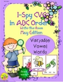 I-Spy CVC in ABC Order - Variable Vowel Words (May Edition) Set 2