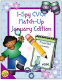 I-Spy CVCe Match-Up - Assorted Vowels (January Edition)