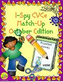 I-Spy CVCe Match-Up - Assorted Vowels (October Edition)